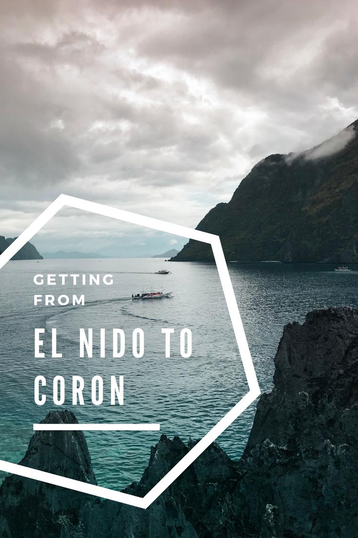 Getting from El Nido to Coron - AIMINGFORAWE.COM