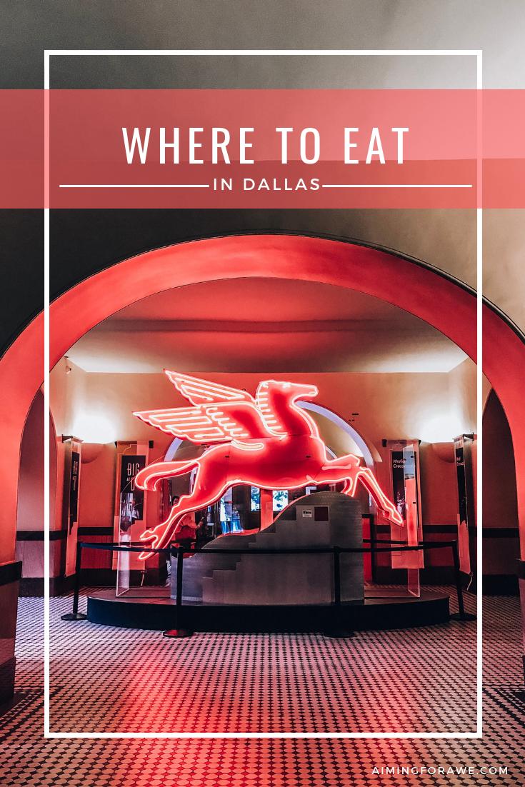 Where to Eat in Dallas - AIMINGFORAWE.COM