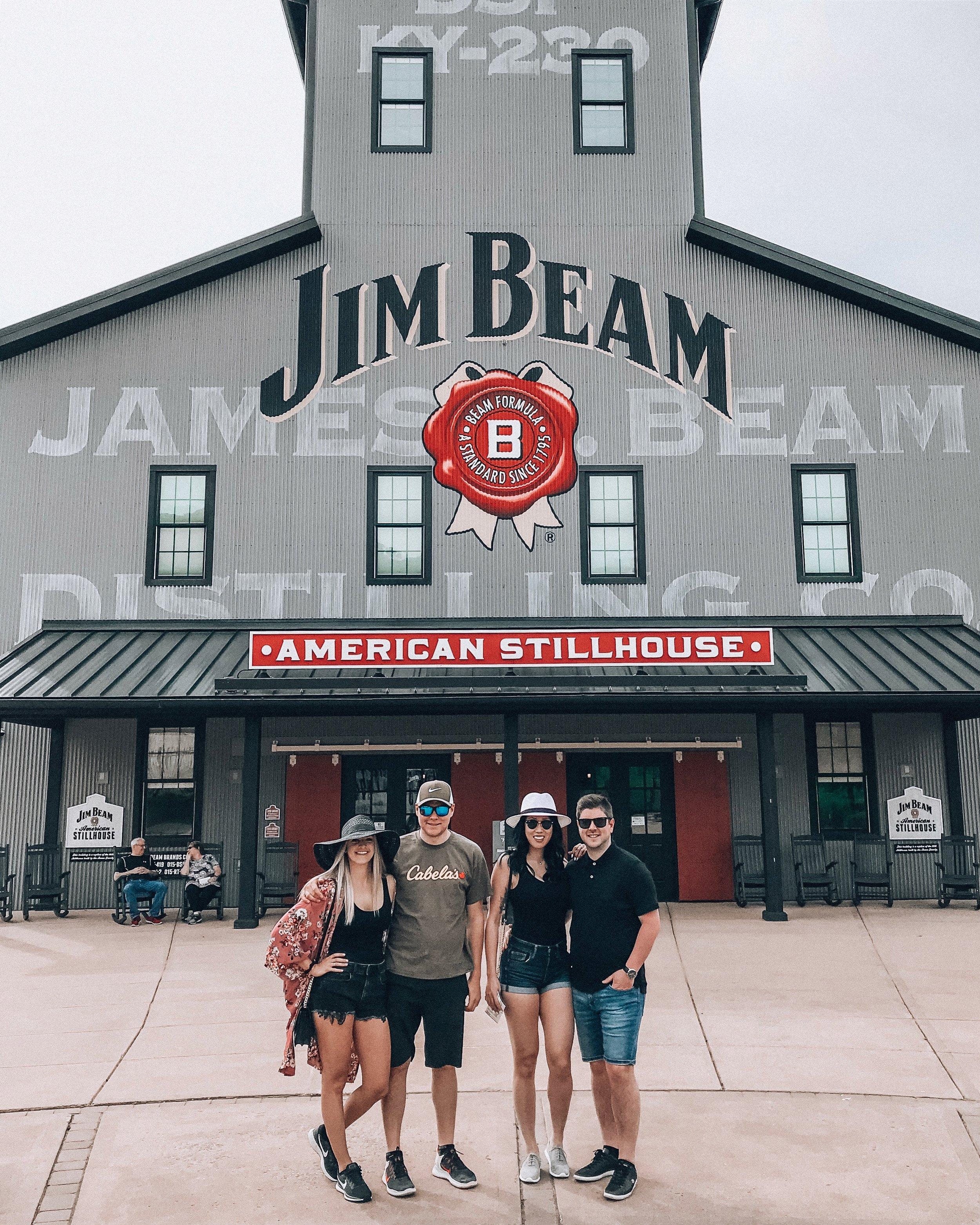 Jim Beam American Stillhouse in Louisville, Kentucky