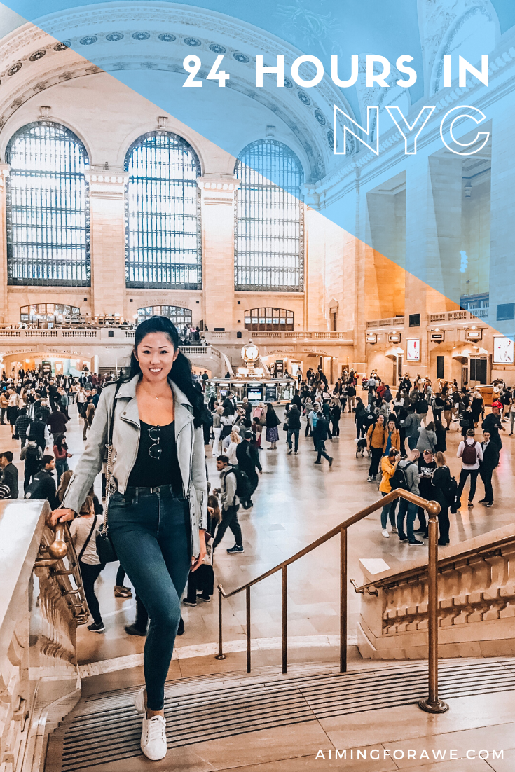 24 hours in New York City - AIMINGFORAWE.COM