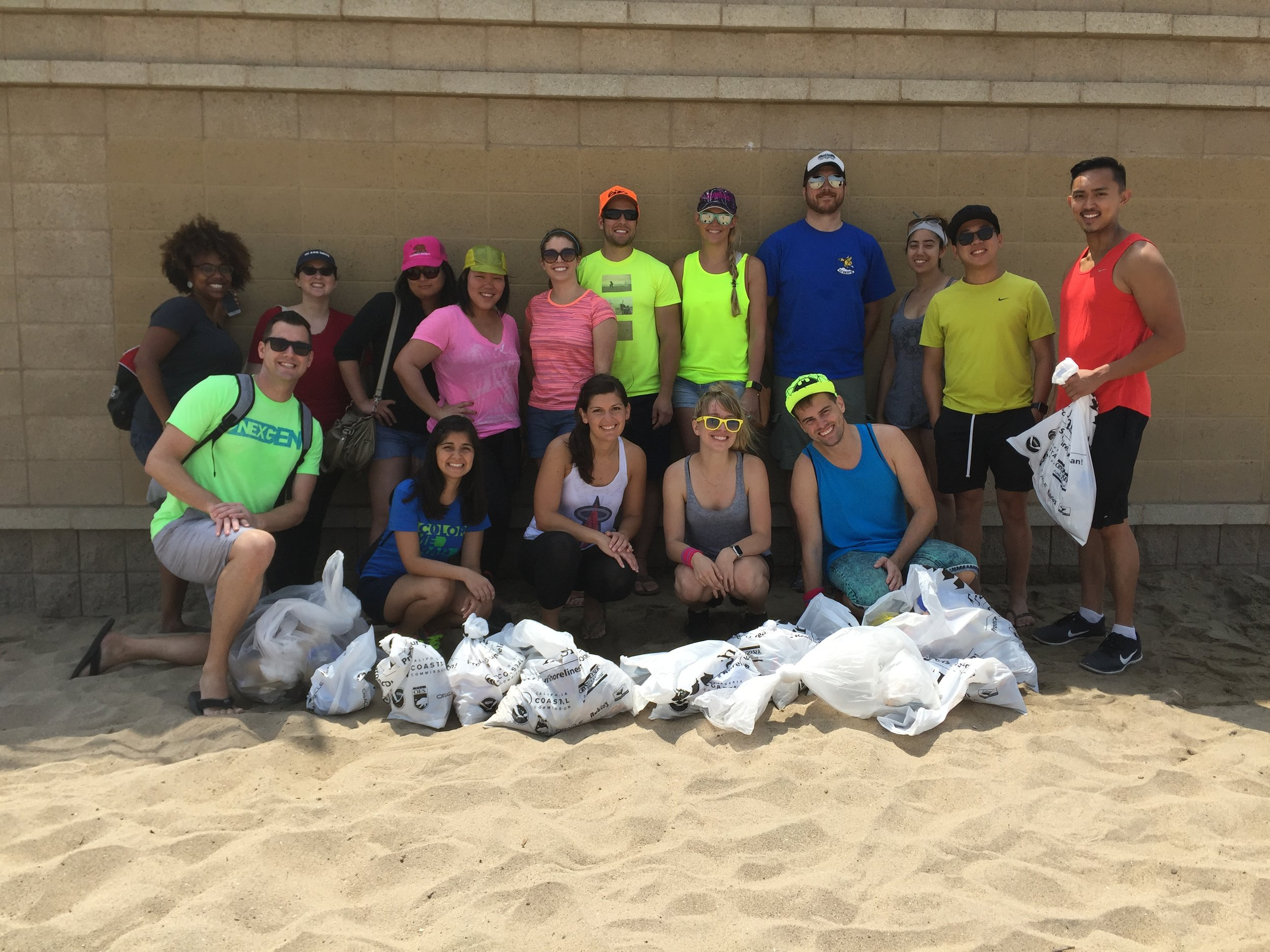 Summer philanthropy event: Neon Beach Clean!