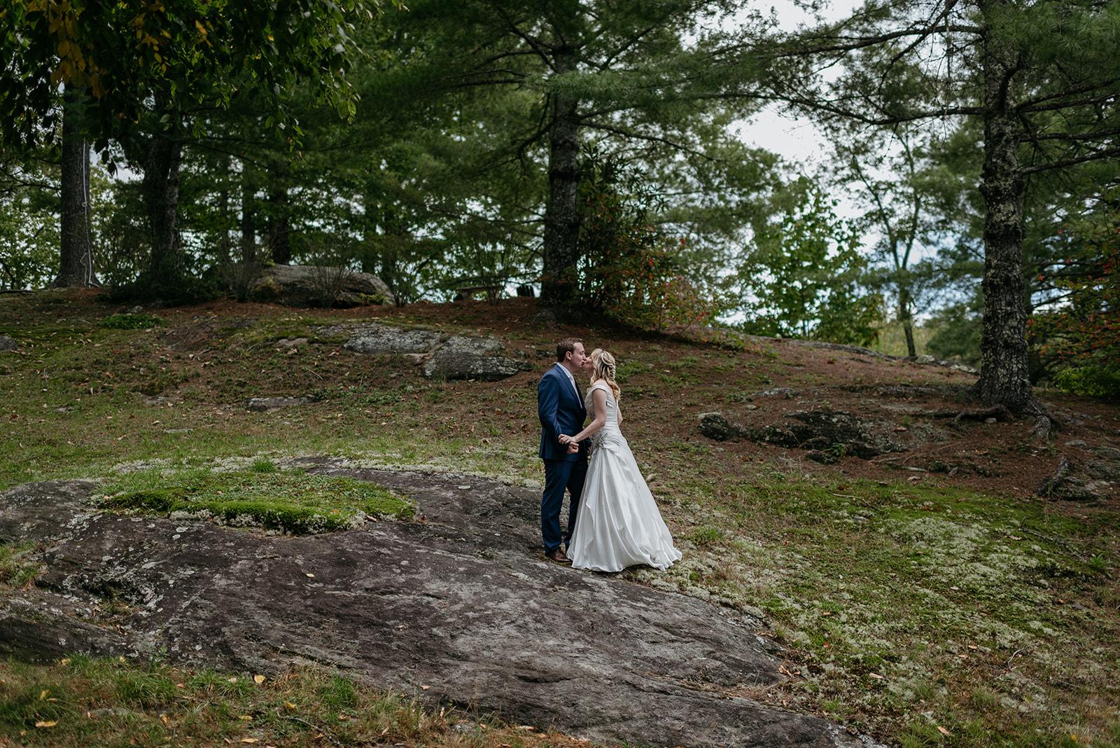 highlands north carolina wedding photographer