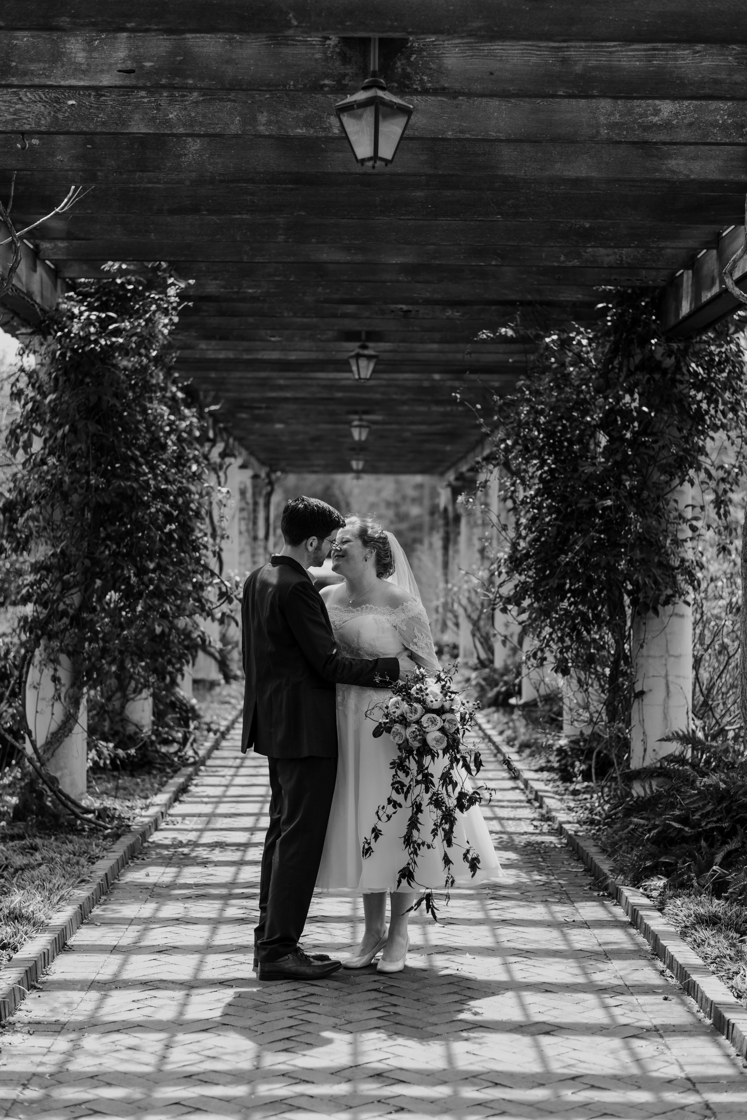 daniel stowe botanical garden wedding photographer