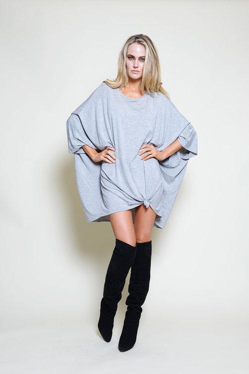 Poncho Mini Dress