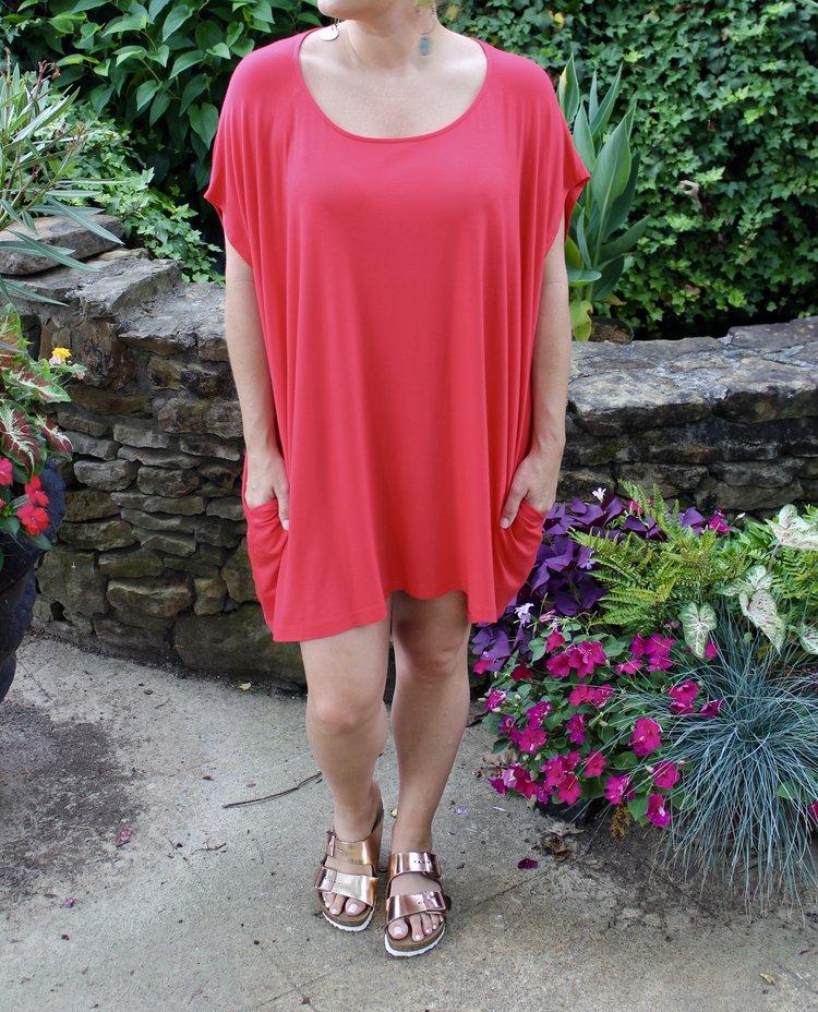 Lindsay wearing with her Birkenstocks.