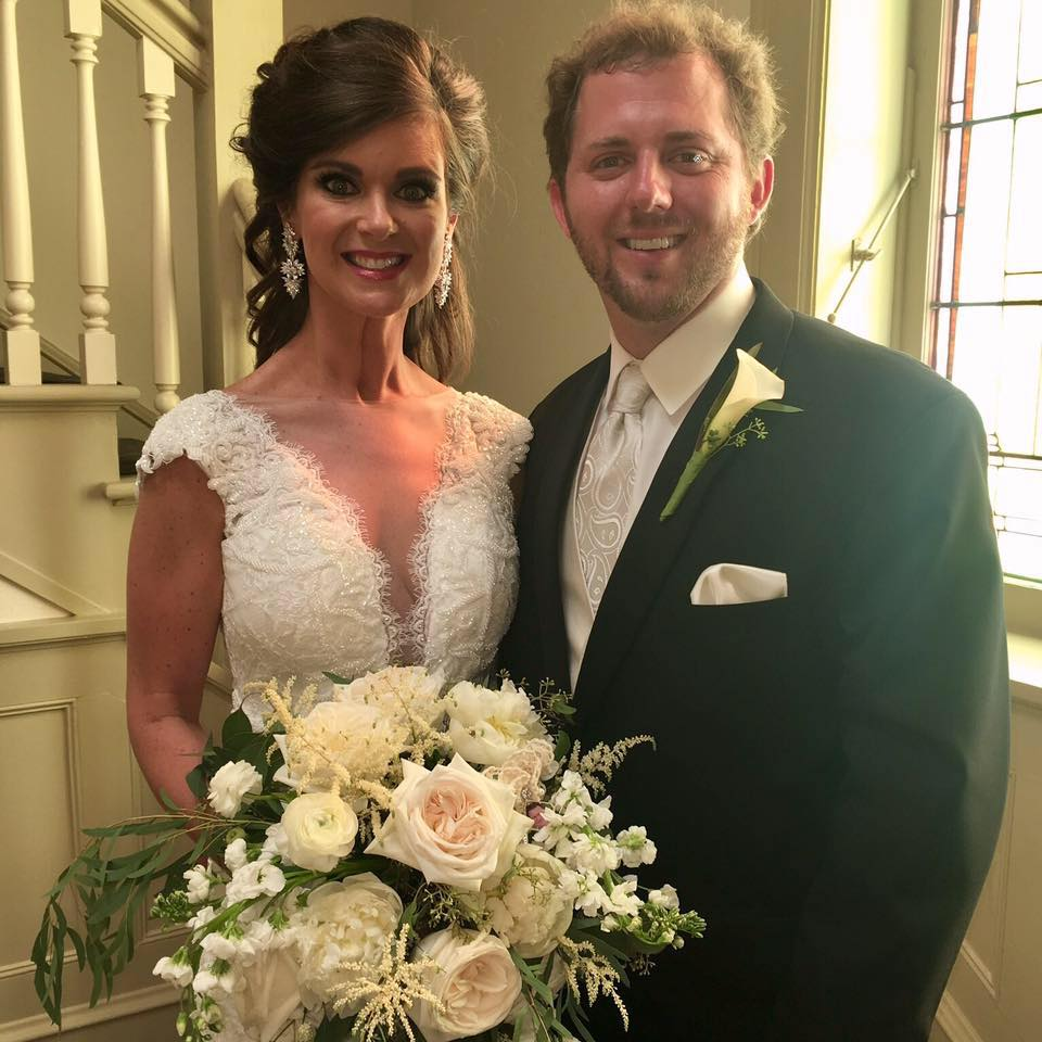 Our new addition to the family....Jill Prince Harper (isn't she gorgeous) married Peyton Harper....7/8/2017.