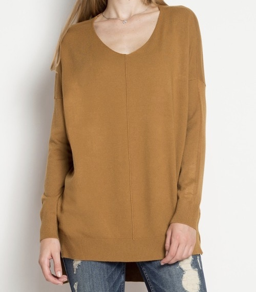 The James Sweater in Mustard has the softest and coziest feel...perfect paired with our Black Beverly Pant. Throw on a fun and festive Mongolian Lamb Infinity Scarf .... YOU ARE SET TO GO FOR A WINE TASTING.
