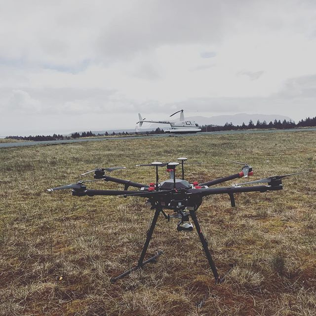 Had a great time supporting launch operations both on the ground and in the air at PSCA on Kodiak Island! Looking forward to the next time.  #alaska #drones #dronesaregood