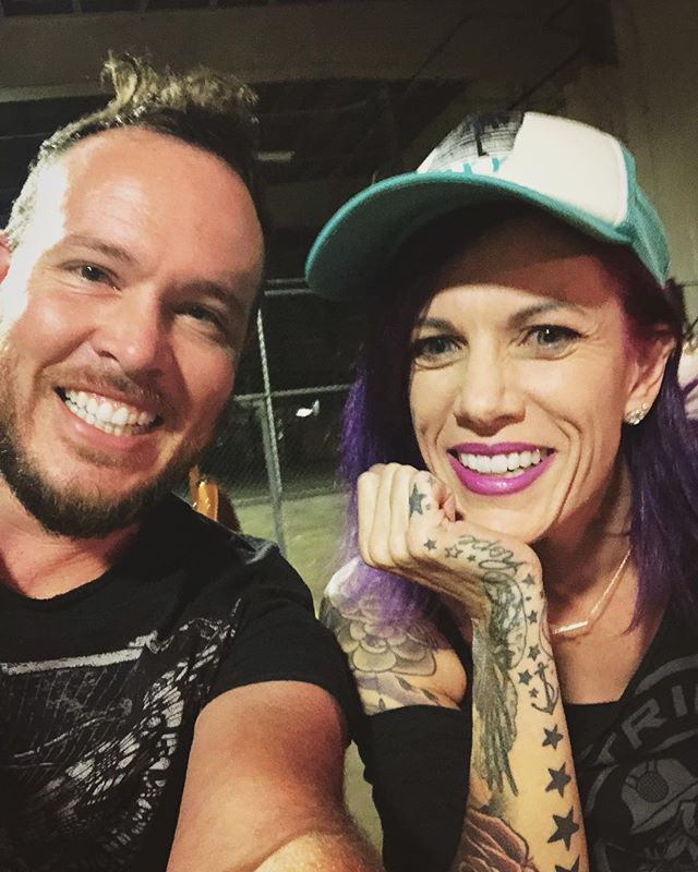Love making music with the amazing @koreycooper ! ...but you all know she's killer #killerKor #ledger #lookatthattattoo
