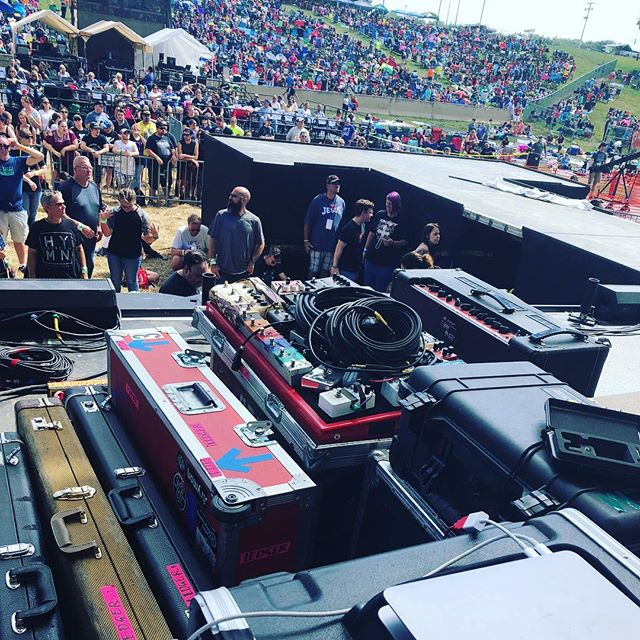 Got the gear ready to stage... It's almost time, PA!