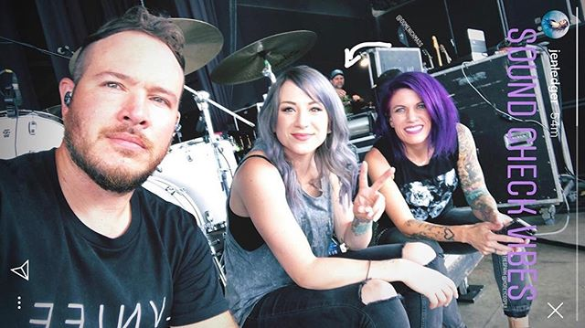 #soundcheckvibes  Really excited to play with @skilletmusic @elevationworship and @crowdermusic today. #ledger ...yes, @jenledger I stole your picture...ha ha ha