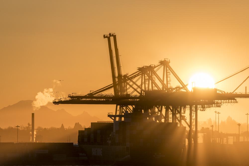 Shipyard Sunrise