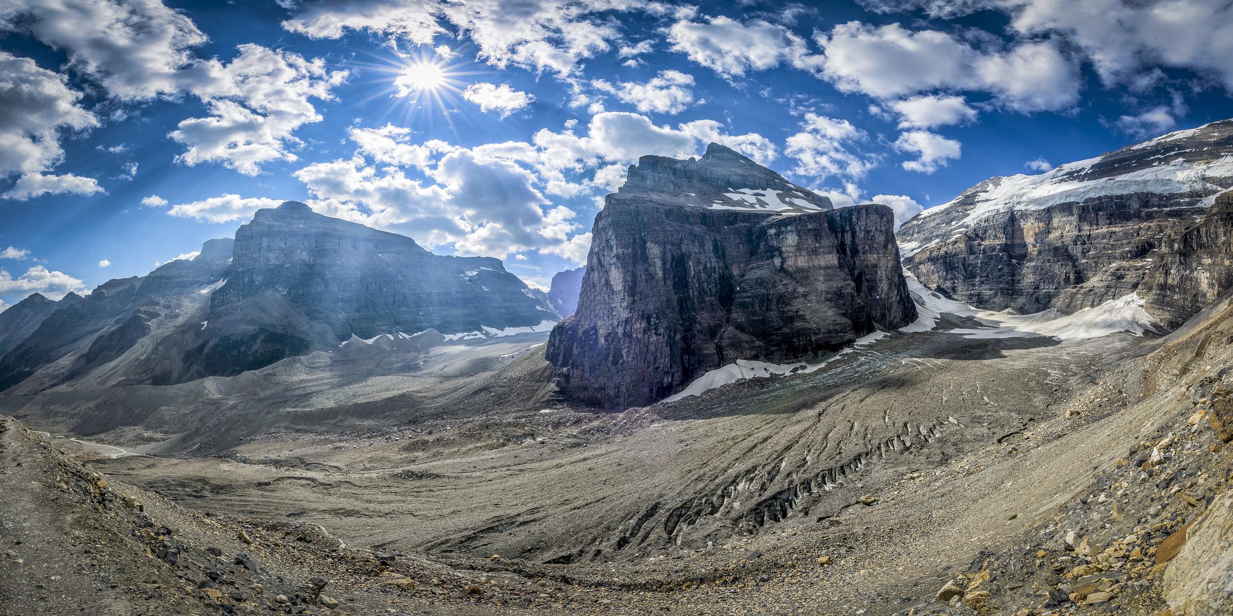 The Plain of Six Glaciers