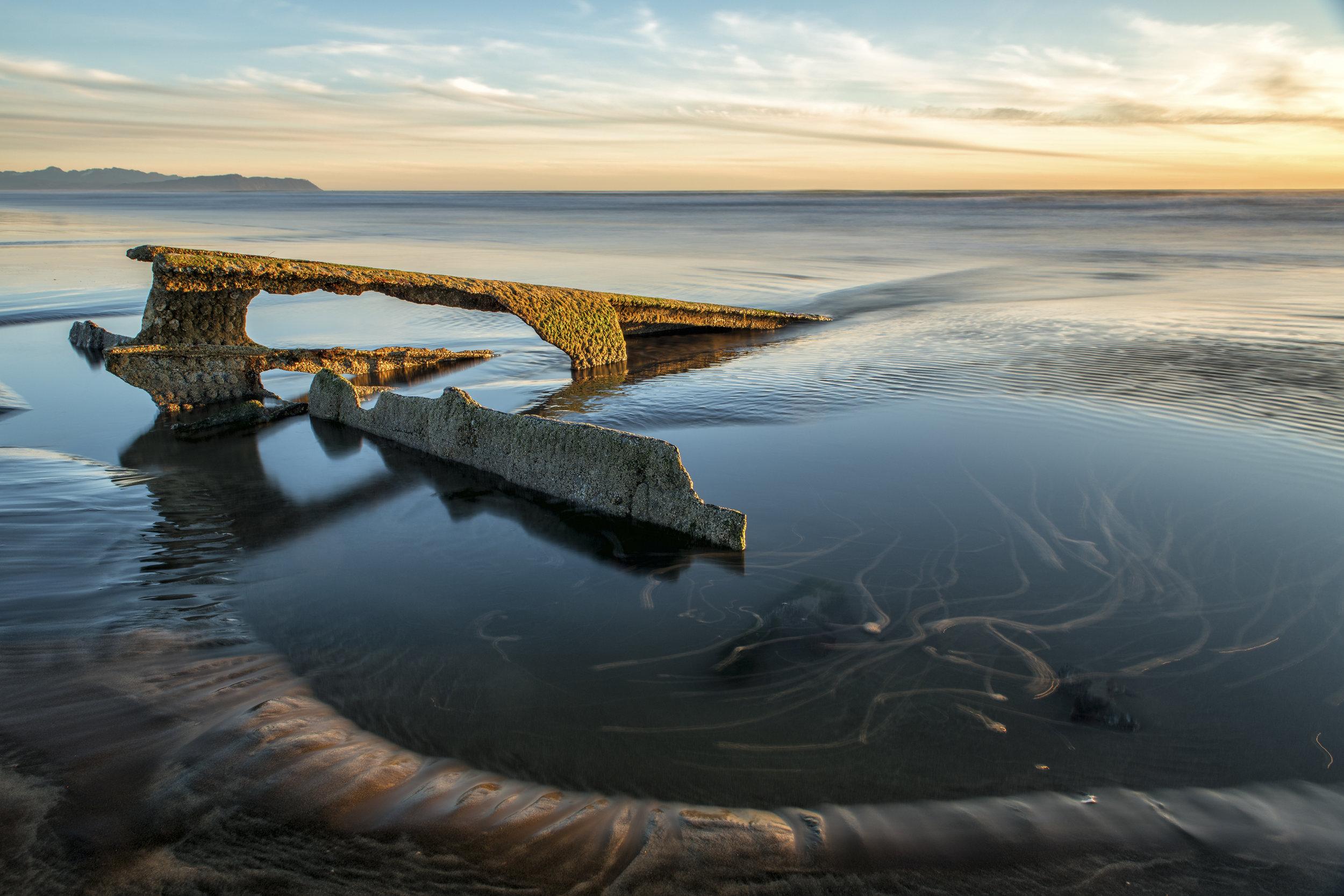 Shipwreck Sunset 2