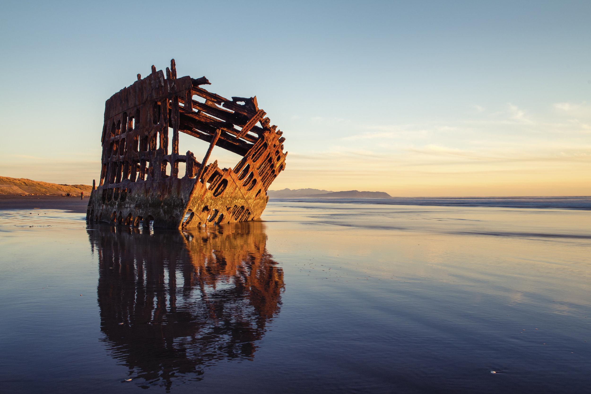 Shipwreck Sunset 3