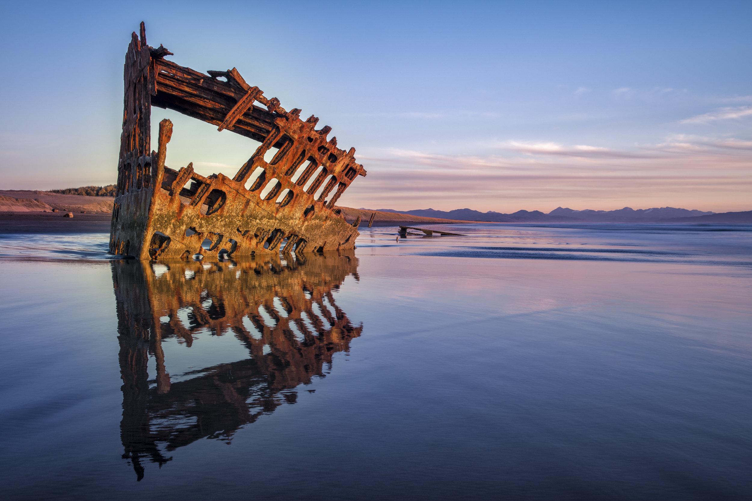 Shipwreck Sunset 4