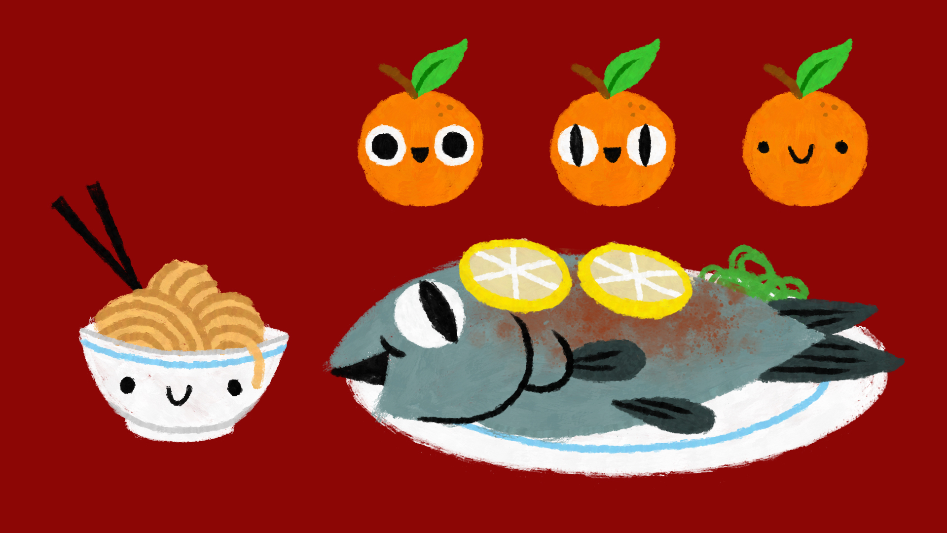 SS_CharacterDesign_fish_noodles_oranges_v01.jpg