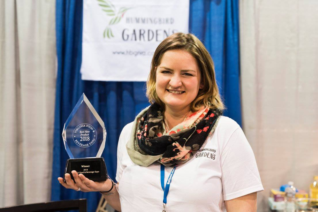 Rose Chili is the Best Product Overall for 2018! - at the Virginia Food and Beverage Expo
