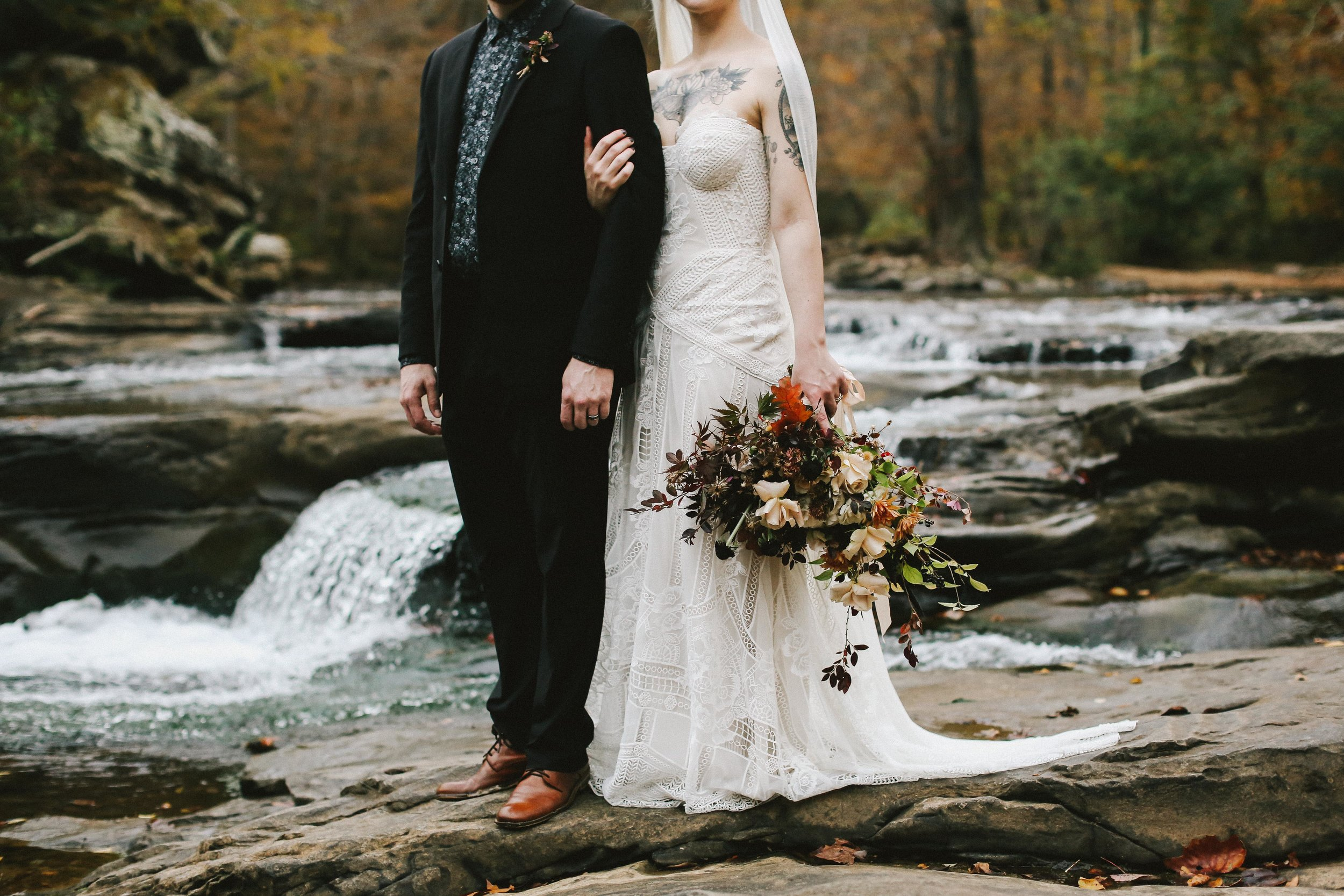 Next Gallery - Moody Autumn Elopement - View Now