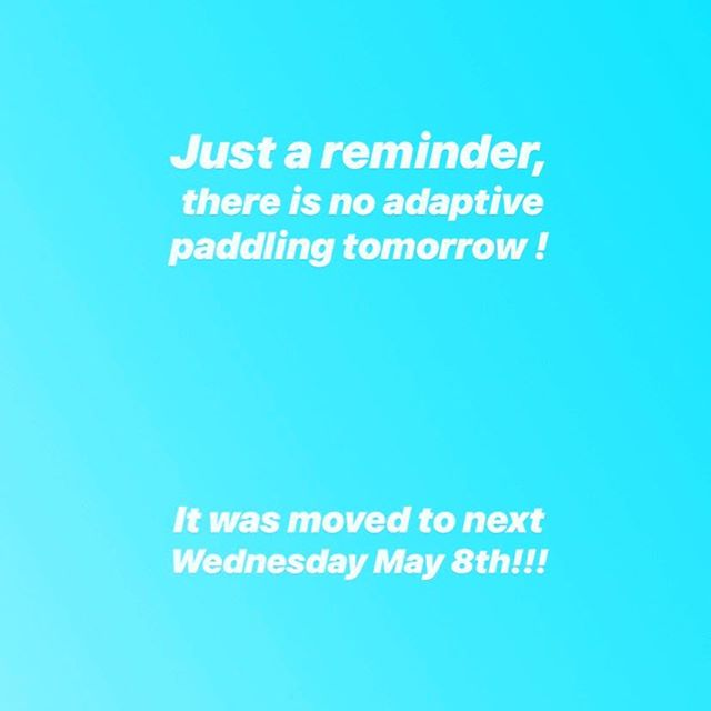 Hope everyone is having a good week. We look forward to seeing everyone next week in Newport for some fun on the water🤙 #pushing4independence #adaptivepaddleboarding #newportaquaticcenter #qbpaddles #adapt