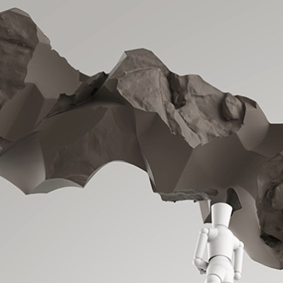#sculpture #3dscanning #conceptdesign #3dmodeling #sculpture #fabrication #philadephia #artist #collaboration #rock #climbing #proposal revisiting some old project plans, collab with @davidbrucestudios