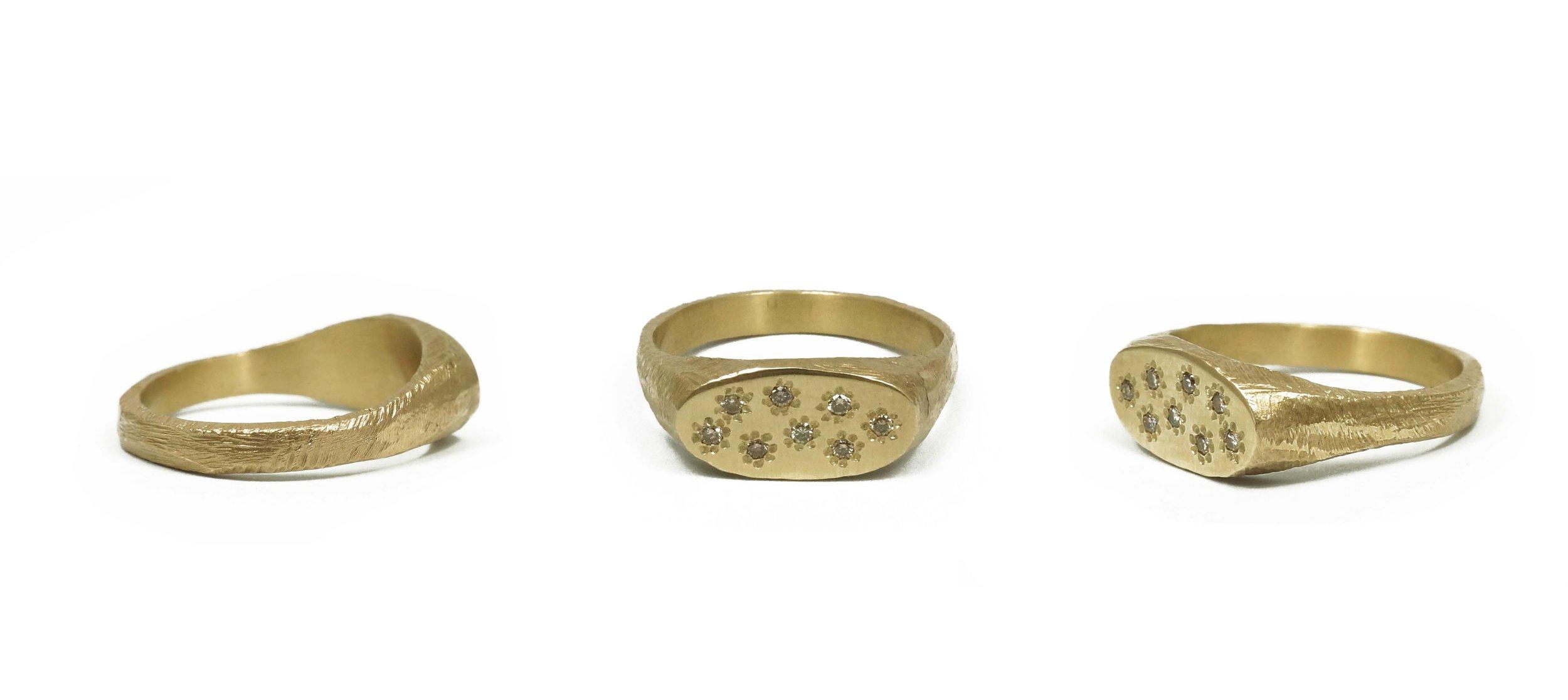 Custom Gold Signet Ring