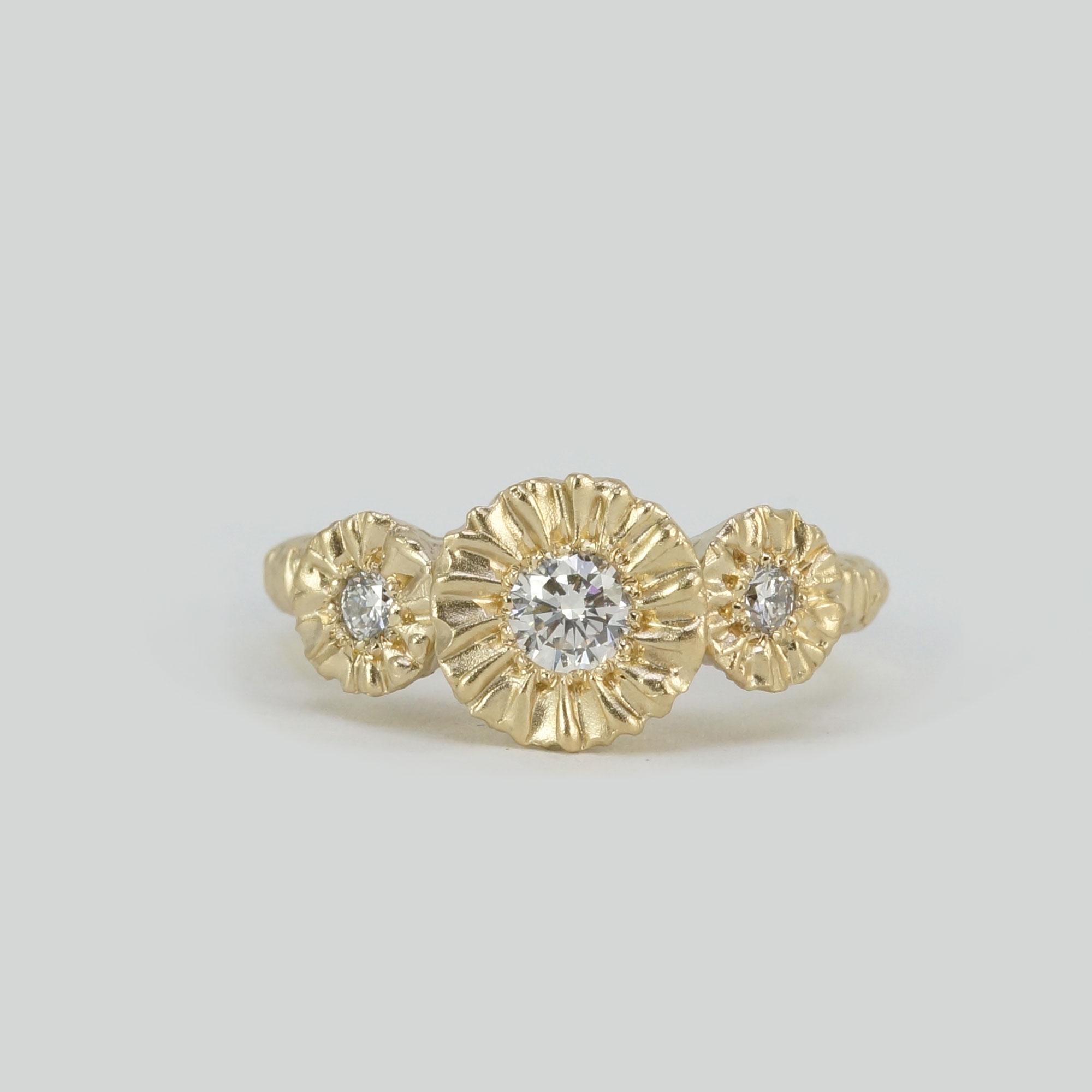 Gold White Diamond Custom Ring.jpg
