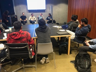 INTERNSHIP PANEL - A chance for new students to interact with seniors who interned at companies like SpaceX and Nvidia, to receive help with their internship search process.