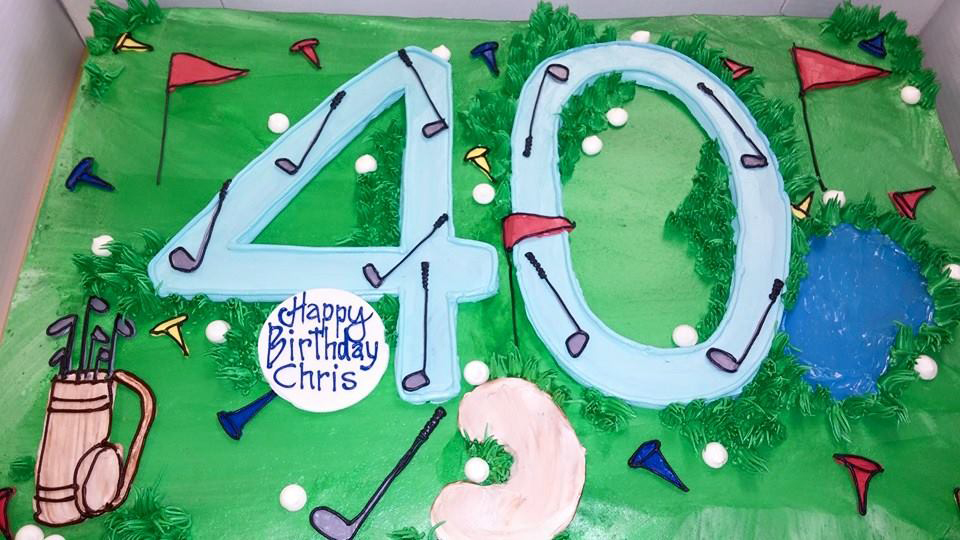 40th Golf Birthday