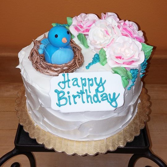 Blue Bird Birthday
