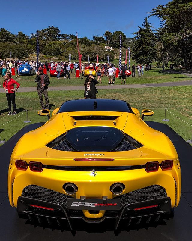 Ferrari's 90th anniversary at Pebble was a spectacular display of heritage 🇮🇹