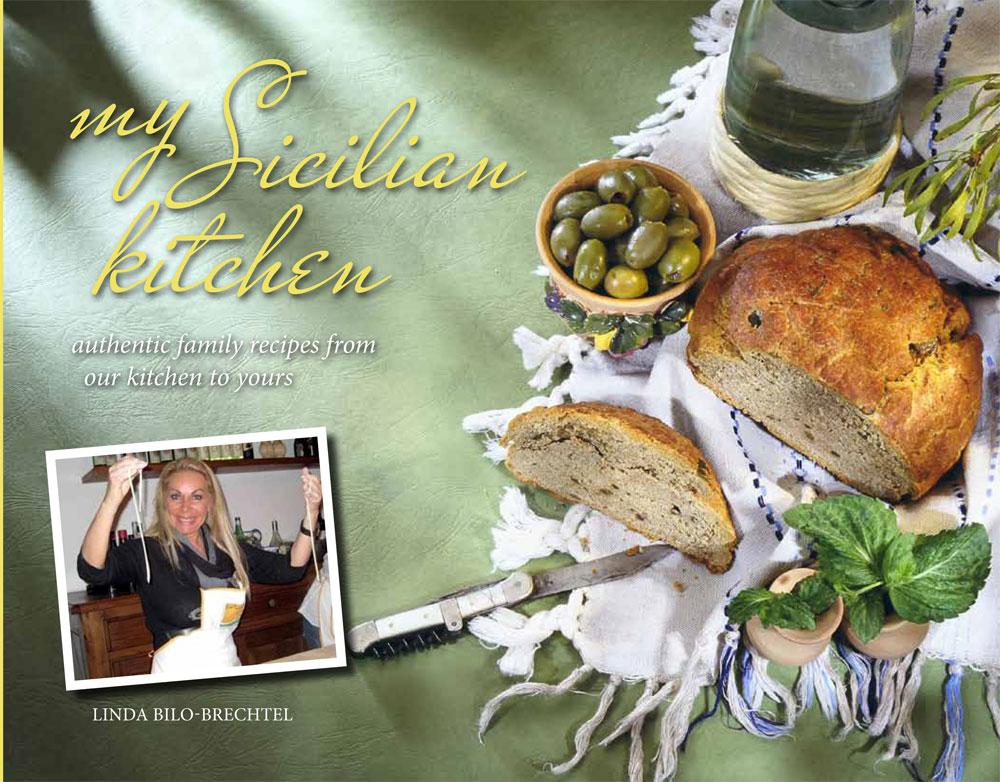 my Sicilian kitchen Cookbook cover