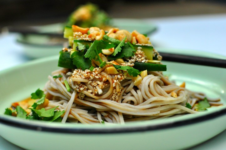 ten minute soba noodles