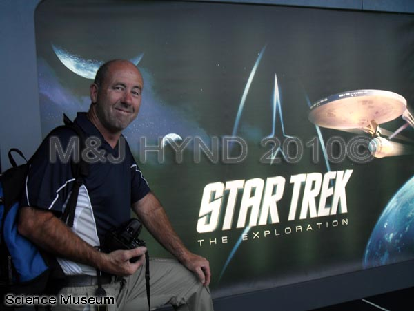 spain Valencia City of Arts and Sciences, Star Trek The Exploration exhibition, museum