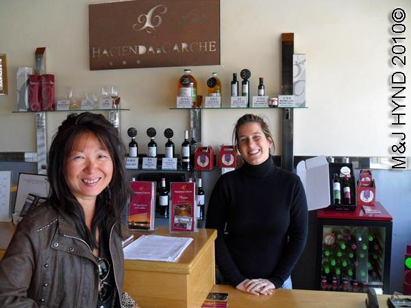 spain Jumilla, Murcia, wine route Hacienda del carche Bodegas wine tour shop