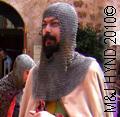 Santa Pola Medieval Market Fiesta in Castillo-Fortaleza de Santa Pola knights in chain-mail armour Festival