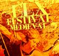 spain elche medieval market fiesta festival billboard