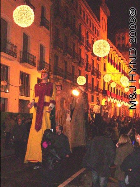 giants #1: Spain Alicante, Los Reyes Magos Three Kings' Fiesta Spanish Epiphany Christmas season, holiday street parade, giants, Gigante