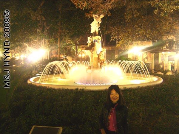 Jacq+fountain: Spain, Alicante, plaza de Gabriel Miro, Fuente La Aguadora, Costa Blanca
