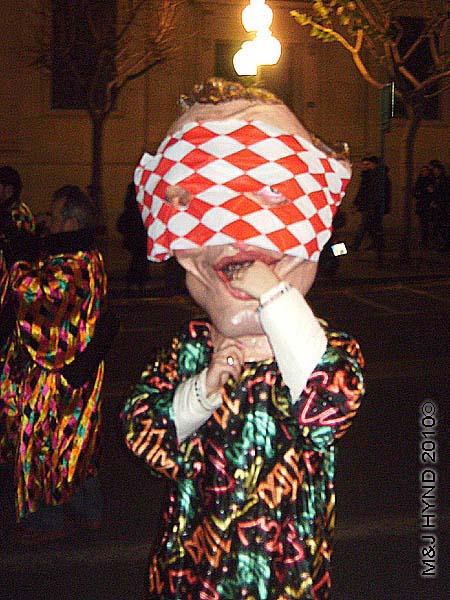 big head: spain Alicante Carnival Fiesta, Costa Blanca, dancing big heads parade, defiles cabezudos
