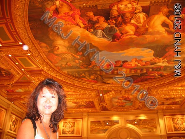 Foyer ceiling, The Venetian, Las Vegas
