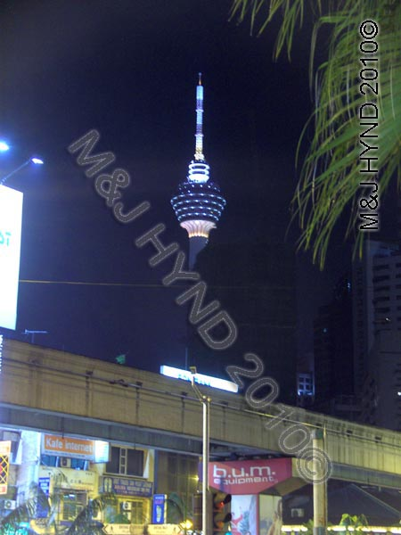 telecom tower that floats, KL, Malaysia