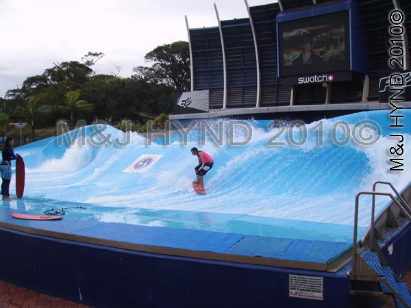 Surf pool, Gateway Complex, Durban, SA