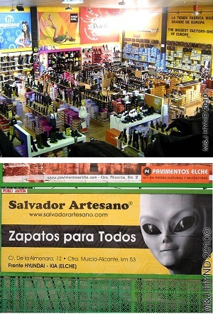 shoes outlet: spain elche in Salvador Artesano shoe outlet factory store, Europe's Largest Footwear  Factory