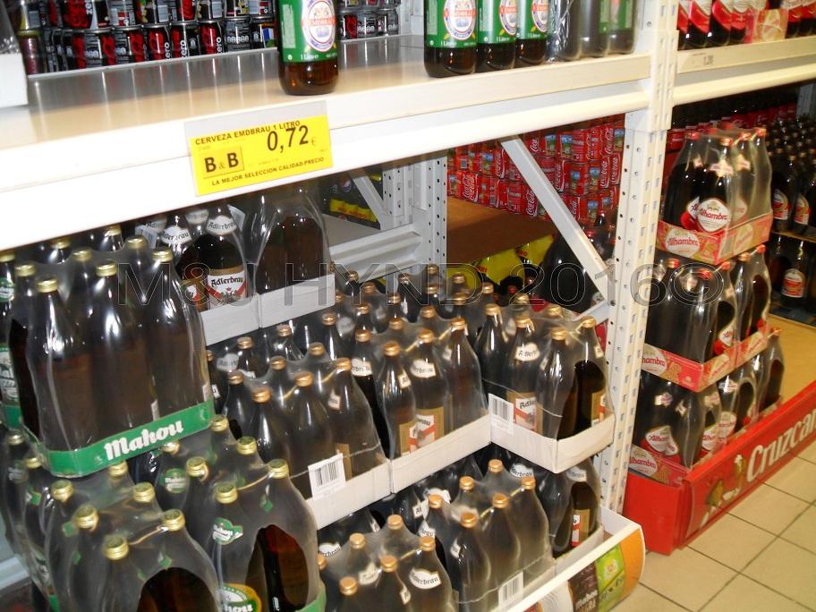 Supermarket - very cheap beer