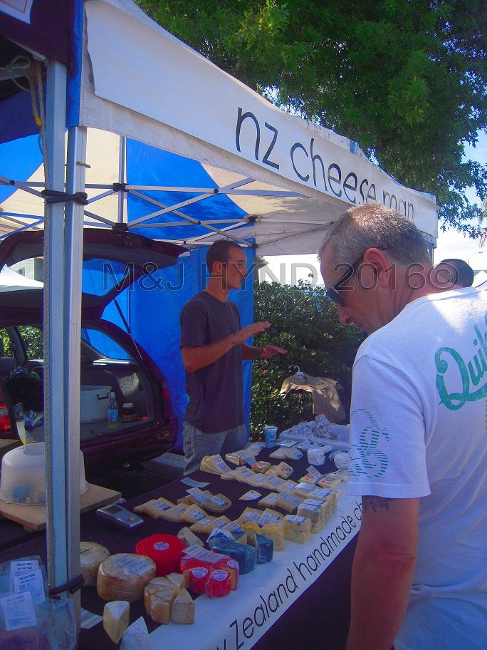 artisan NZ cheese, Takapuna Sunday Market, NZ