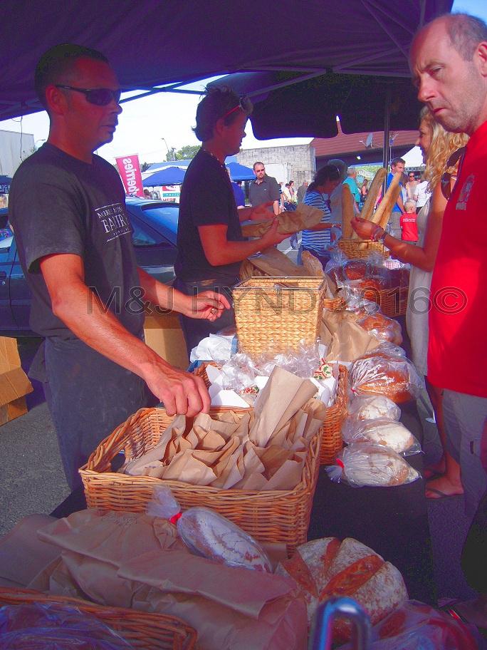fresh pastries, Gisborne Farmers Market, NZ