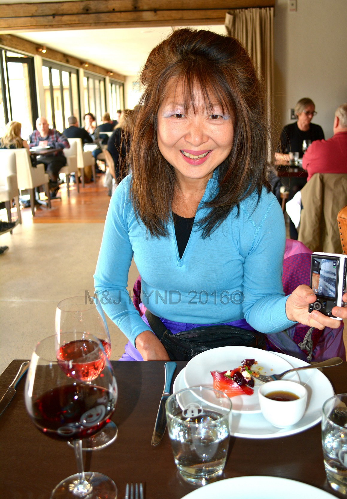 Amisfield Winery lunch, Lake Hayes, Central Otago, NZ