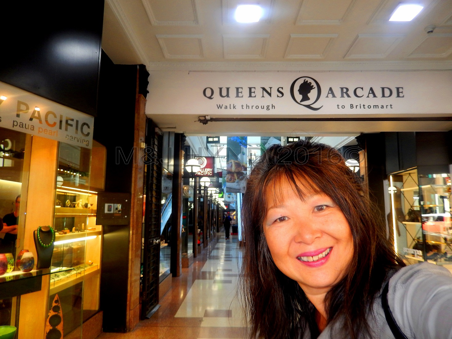 historic Queens Arcade just off Queen Street, Auckland, NZ