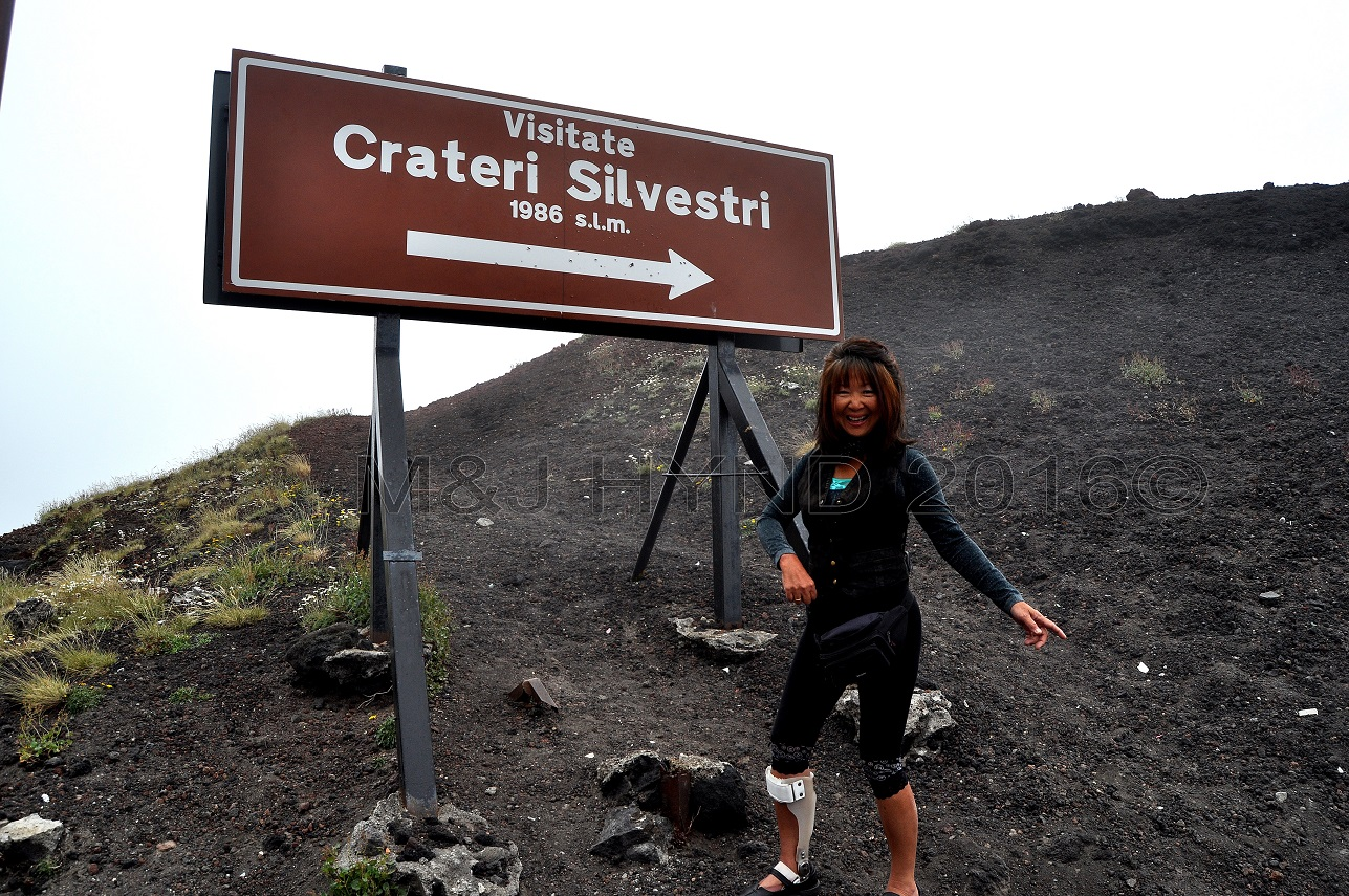 Mt. Etna Silvestri craters, Sicily, Italy